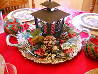Christmas Home Tablescape