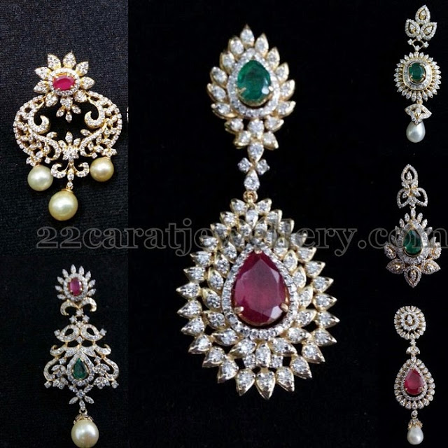 Latest Diamond Earrings Gallery
