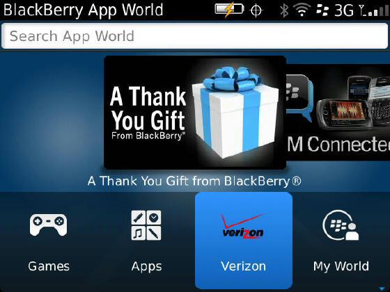 blackberry app world rencontre des problemes de connection au serveur Antony