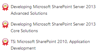 SharePoint Certifications