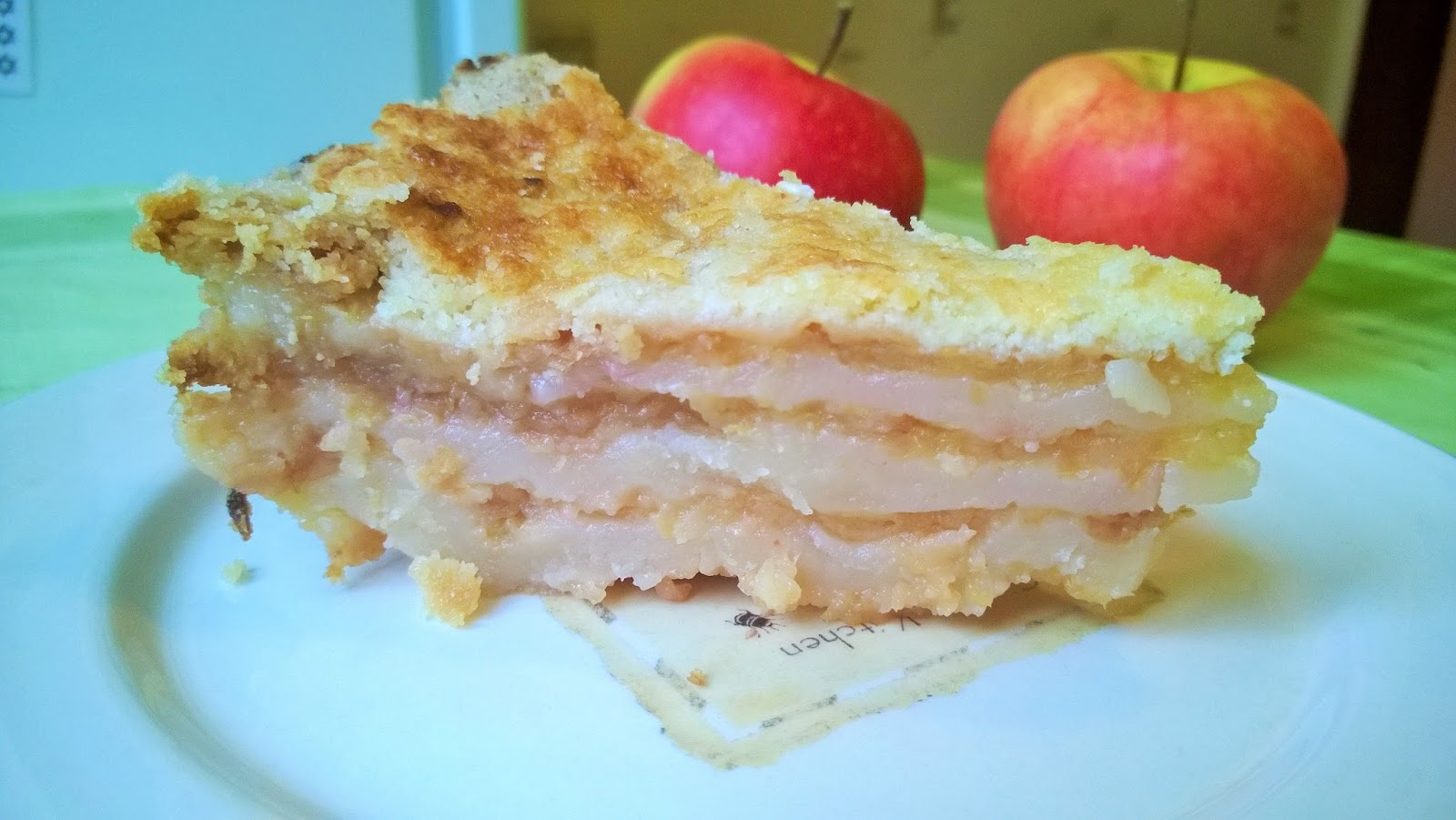 Пирог с сушеными яблоками рецепт
