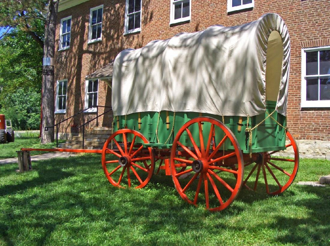 conestoga wagon exhibit