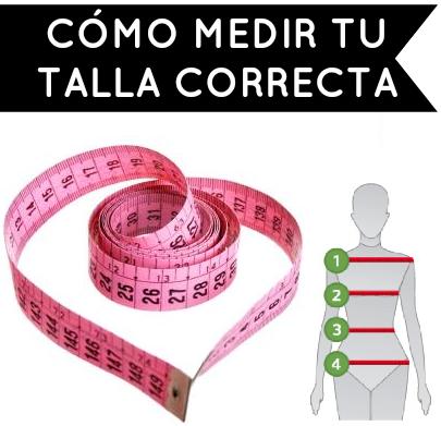 Cómo medir tu talla