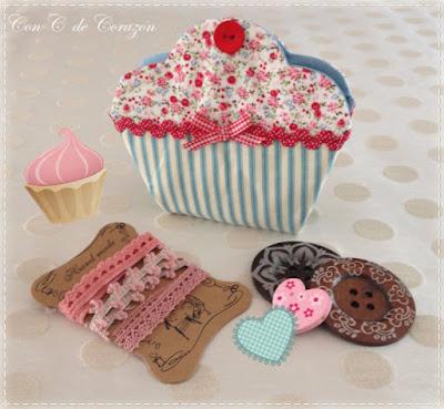 Costurero Cupcake