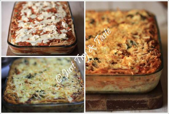 resep spaghetti lasagna mudah dan lezat JTT