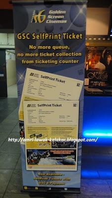 GSC self print ticket