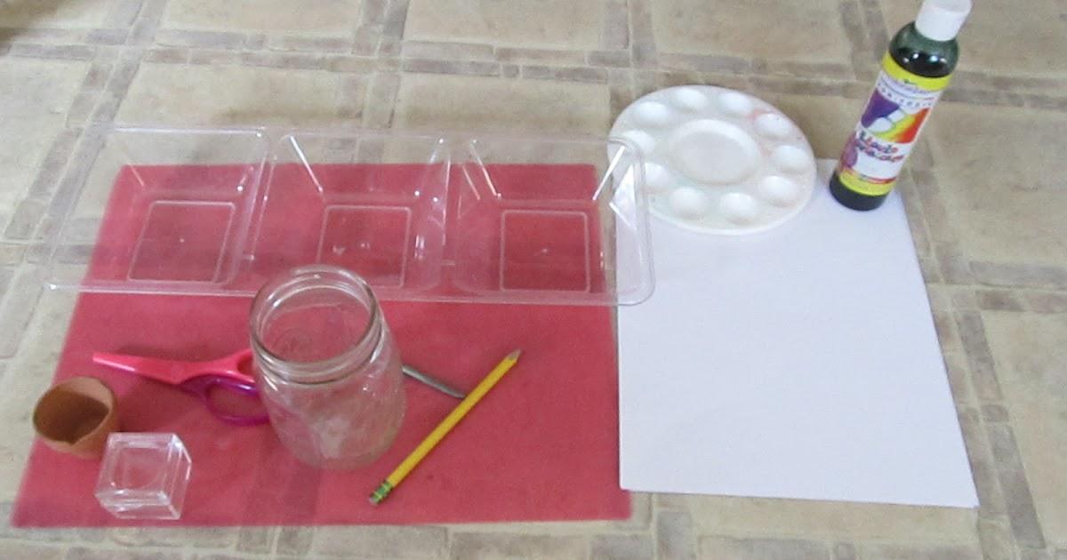 Kitchen Floor Crafts: Dandelion Exploration
