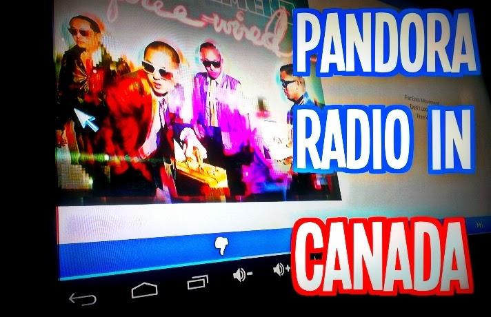 Pandora radio canada