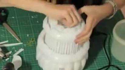 Gambar kerajinan lampu hias