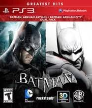 Batman: Arkham Dual Pack – PS3