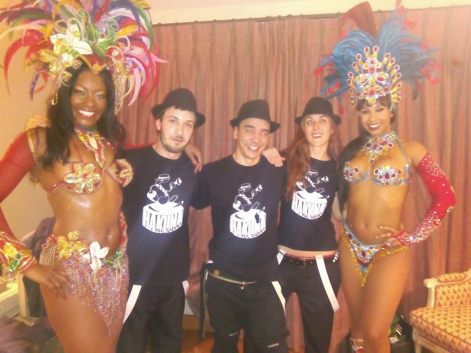 Batucada Madrid - Bailarinas brasileñas