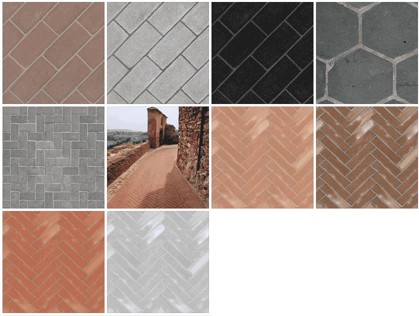 Sketchup Texture Texture Outdoor Paving Stone