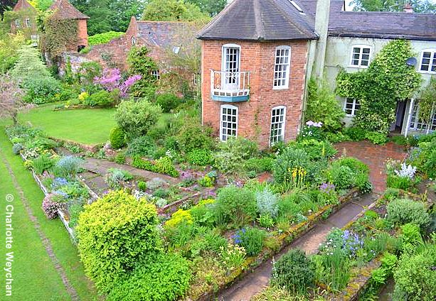 When small is stunning stone house cottage worcestershire the the garden at stone house cottage in worcestershire is best seen from one of the towers to appreciate the layout workwithnaturefo