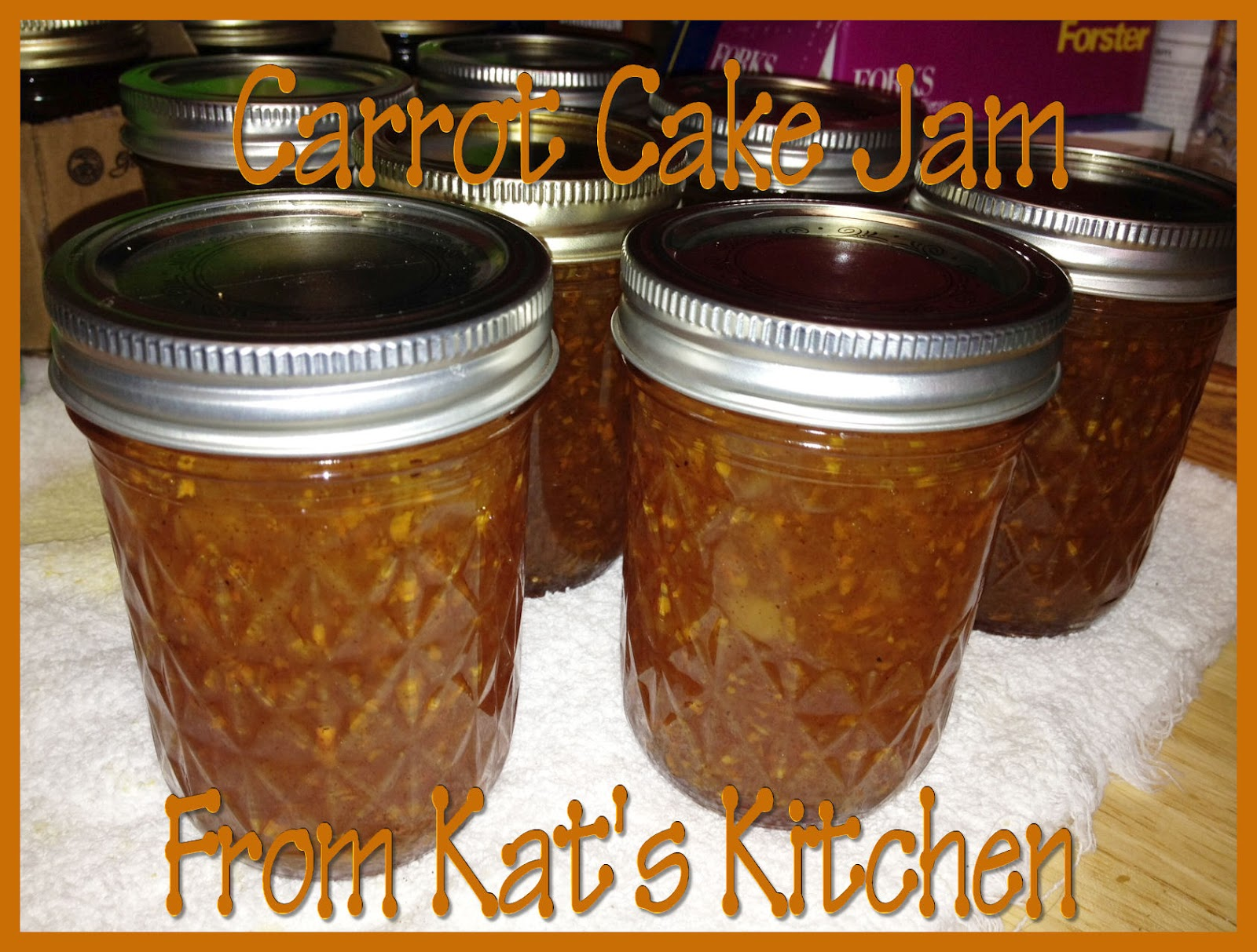 ... to Kat's Canning Tidbits I hope you enjoy your visit!: Carrot Cake Jam