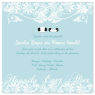 disneyland wedding dreams disney wedding invitations With wedding invitations to disney characters