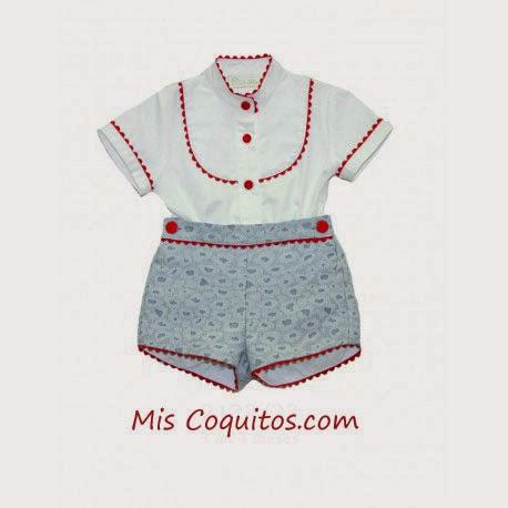 Conjunto de camisa y pantalón bebe Dolce Petit