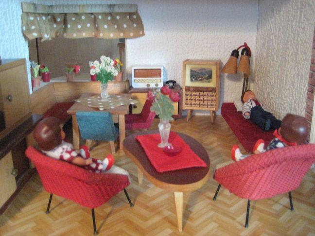 Irmchensminiwelt mai 2011 for Wohnzimmer 50er jahre