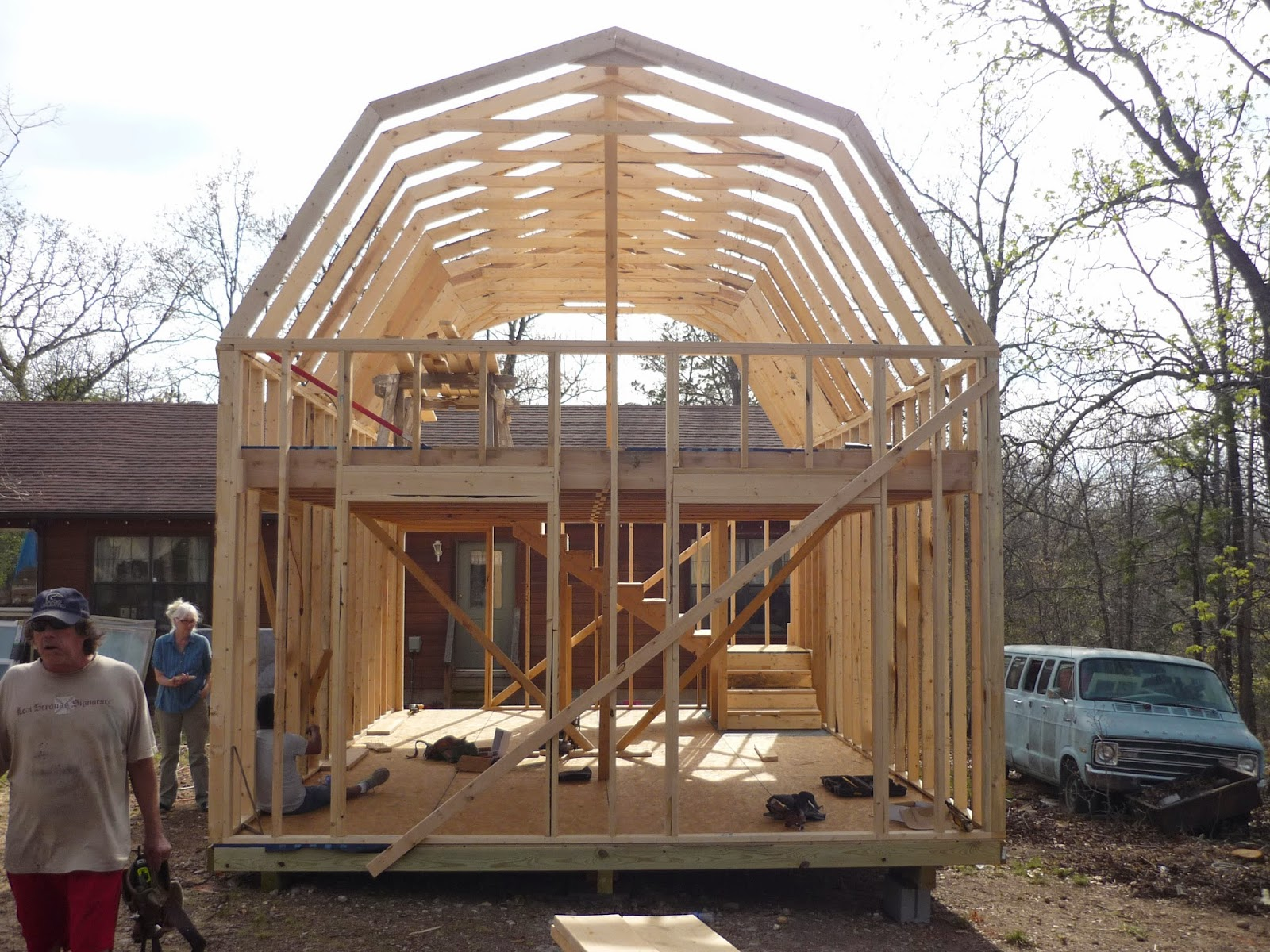 16x24 Garage With Loft : Shed layout joy studio design gallery best