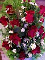 Rosas rojas para ti.