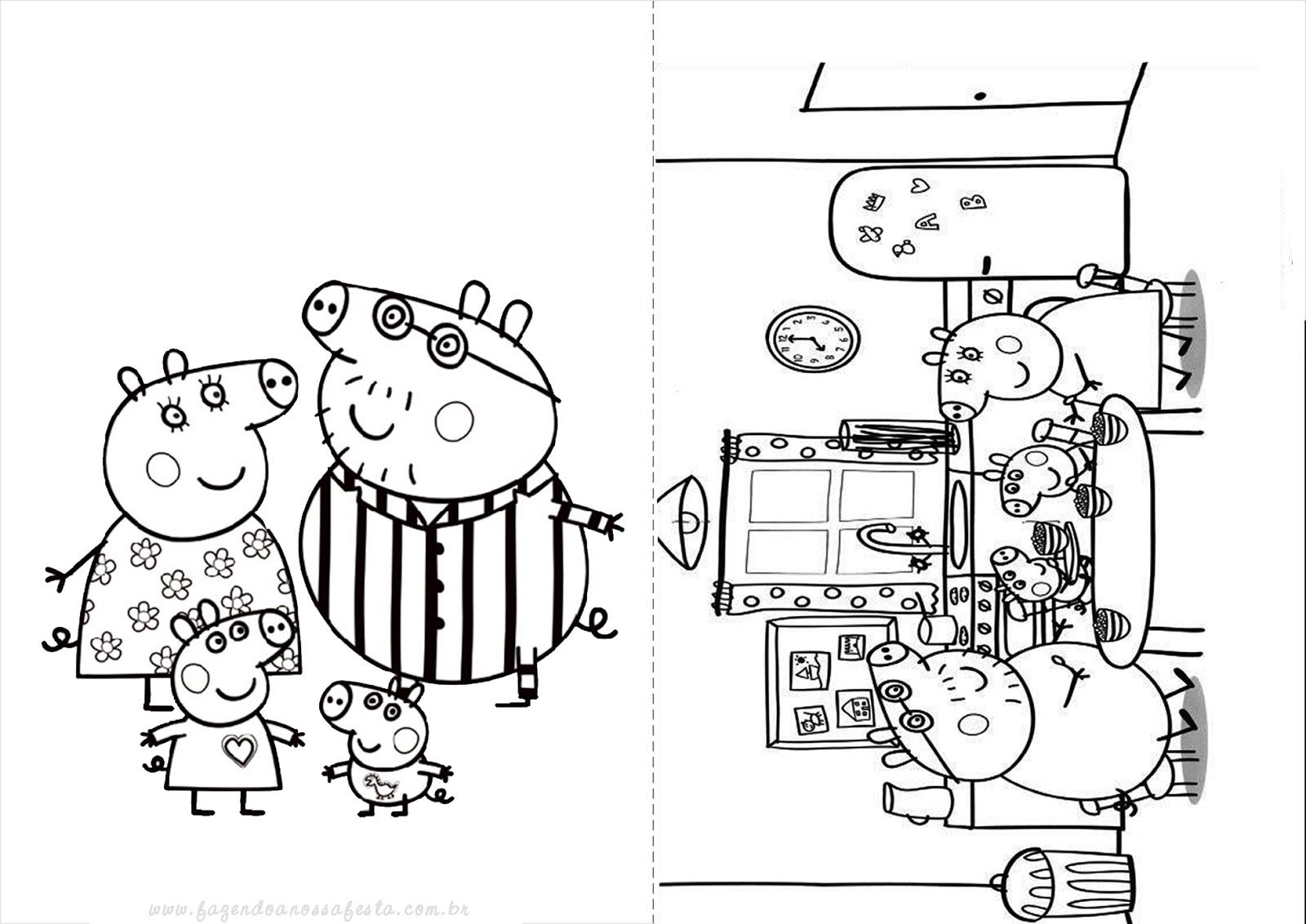 Blog Megadiverso Peppa Pig Para Imprimir Y Colorear
