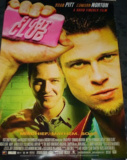 Where band Jack's Broken Heart got their naam from - David Fincher - Fight Club film poster