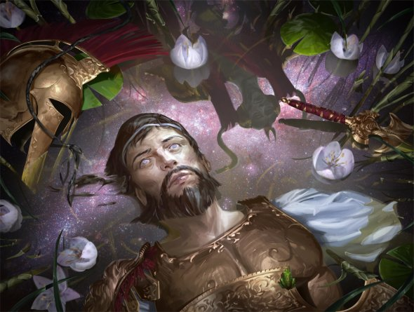 Johannes Voss algenpfleger deviantart ilustrações fantasia card games magic the gathering