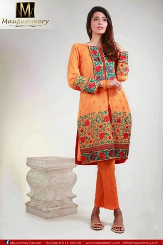 Mausummery Pakistan Eid Collection-2014