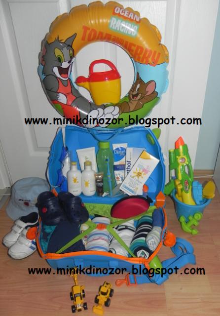 Tatil bavulu, Bavul hazırlıkları, Çocuk tatil bavulu, Bebekli tatil