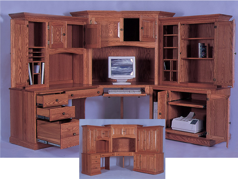 Impressive Corner Computer Desk with Hutch 800 x 600 · 145 kB · jpeg