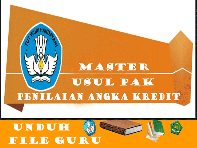 Download File Master Aplikasi Dupak / PAK Terbaru