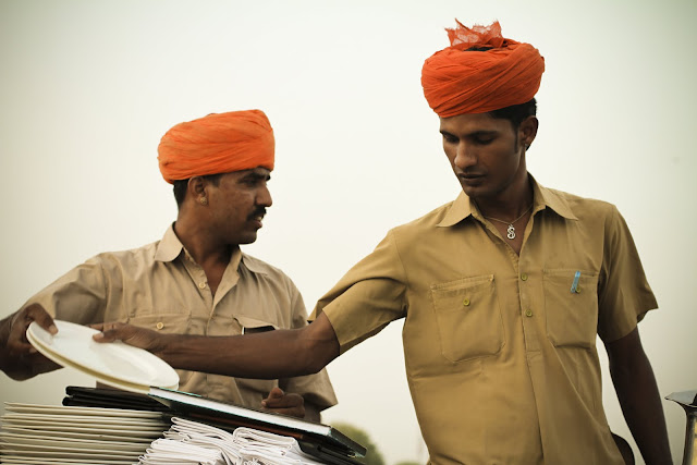 orange turban, indian turban colour symbolism, indian waiters, wandering style
