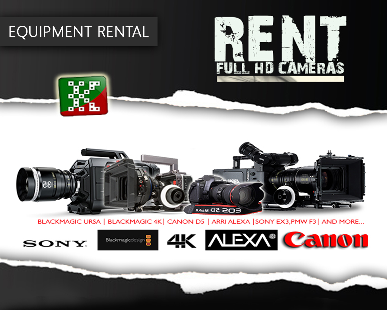 Rent Production Equipments