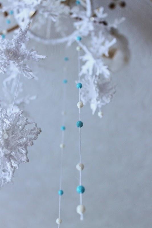 снежинки рукодельные
