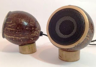 Cara Membuat Loud Speaker / Salon dari Batok Kelapa