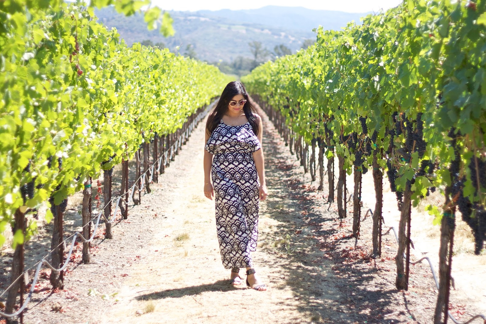 sonoma county wine tasting, sonoma ootd, stylish wine tasting outfit, summer comfy outfit