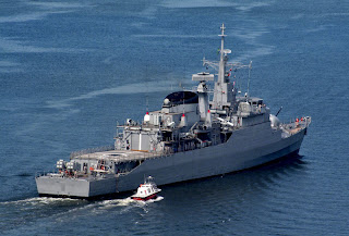 Brazilian Navy Frigate Uniao Deploys to Lebanon October 2011