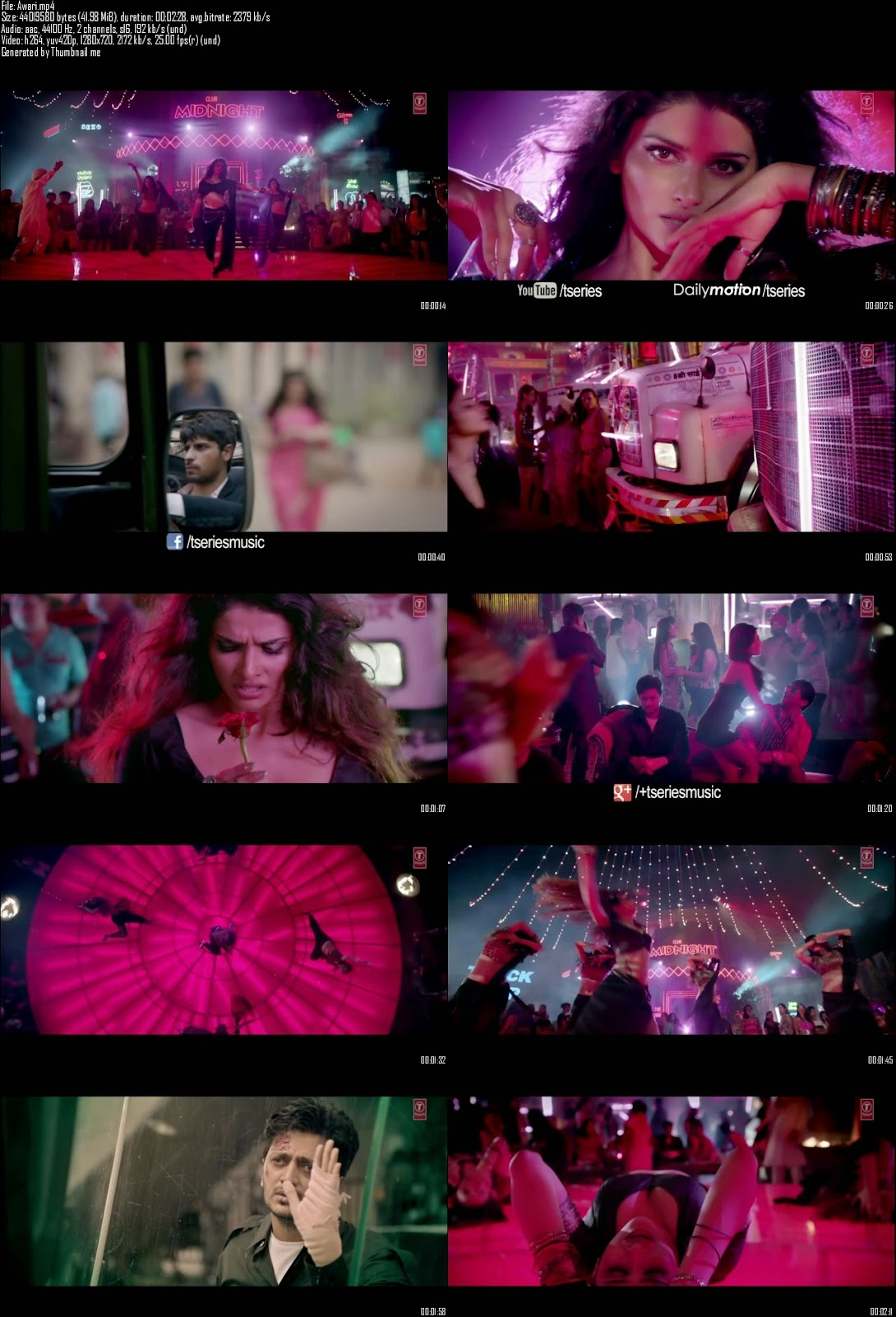 Mediafire Resumable Download Link For Video Song Awari - Ek Villain (2014)