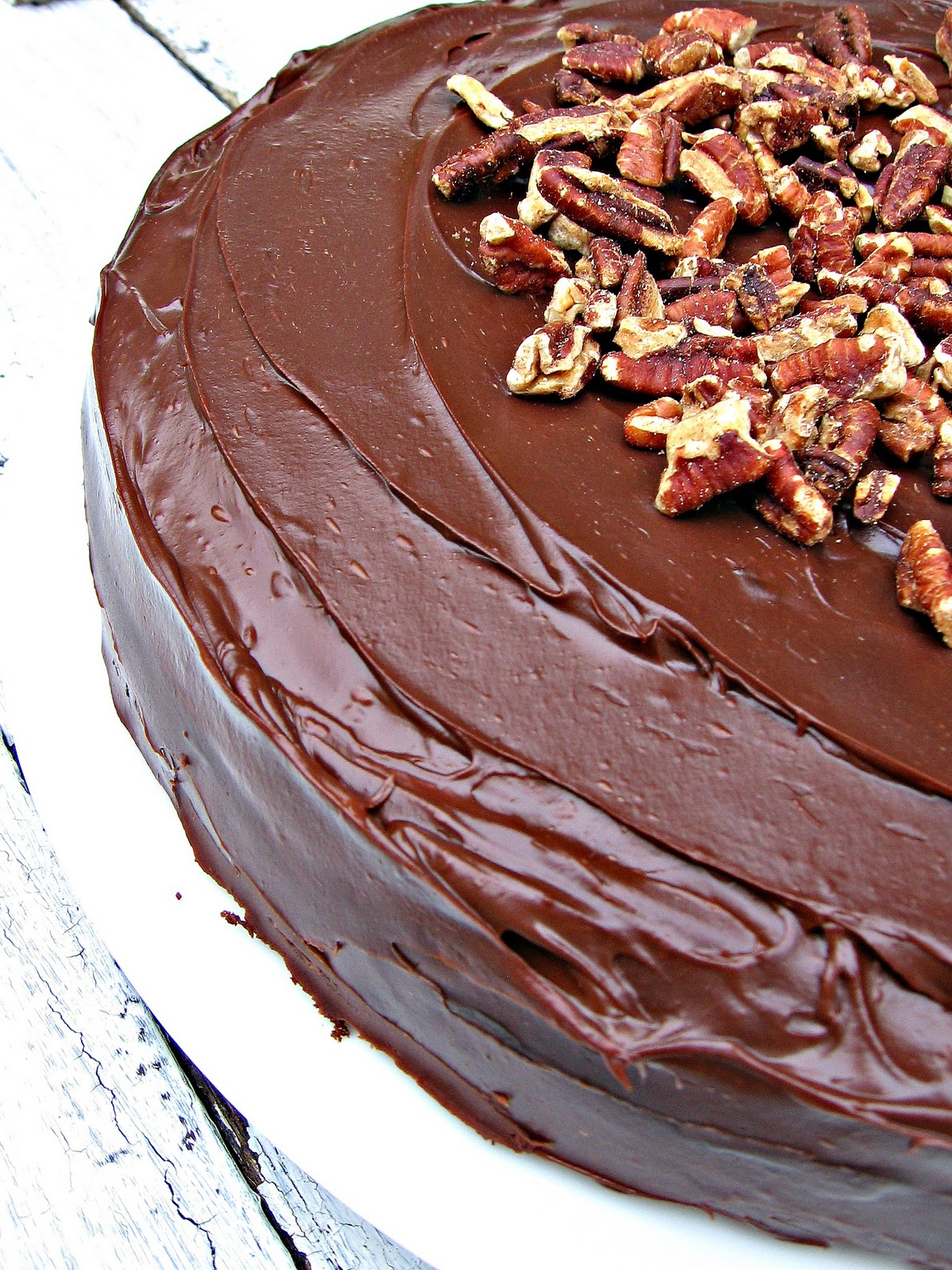 sweetsugarbean: Best For Last: Double Chocolate Zucchini Cake