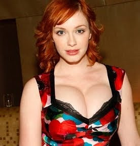 The Busttacular Christina Hendricks, approved by Vampire fanboys 4-1. (The one guy is a Eunich. lol )