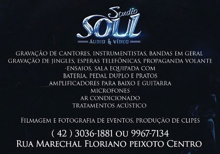 STUDIO SOUL - ÁUDIO E VIDEO