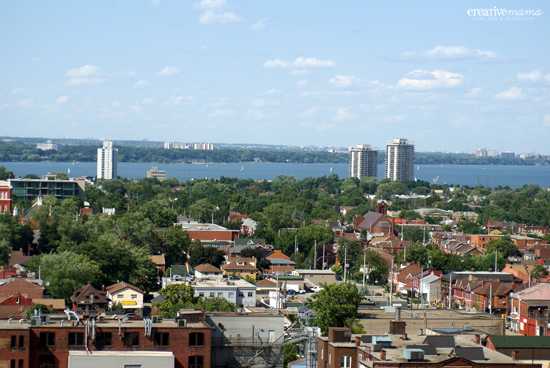 Canadian Heritage Passport - Travel in Ontario - View from Sheraton Hotel Hamilton