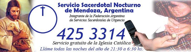 Servicio Sacerdotal Nocturno de Mendoza. Argentina.