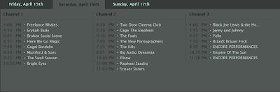 lista de artistas coachella 2011 viernes 15 abril