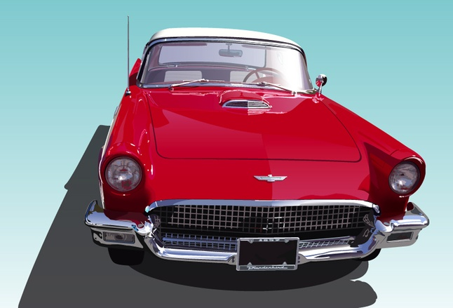 Free Classic Old Cars Vector Art Graphics Download