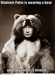 argument invalid putin bear
