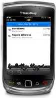 Email Features on BlackBerry OS 7