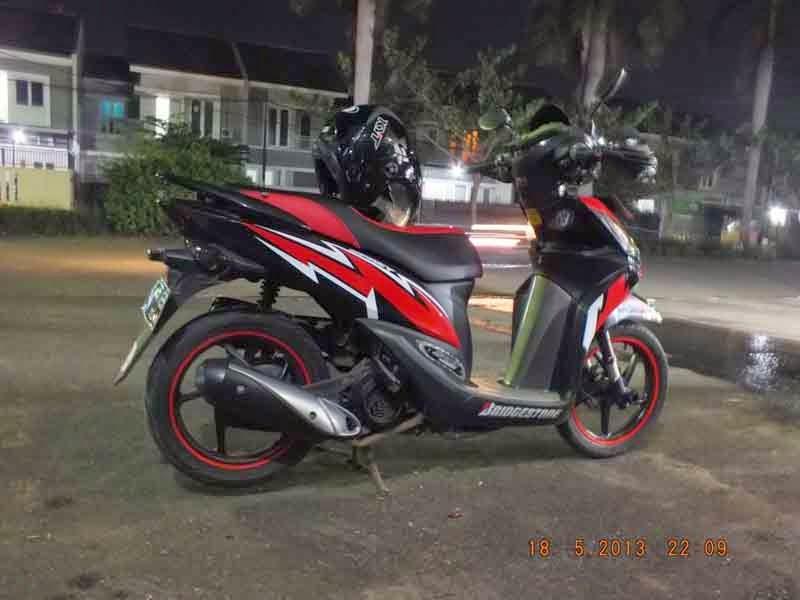 Modif Honda Spacy Terbaru