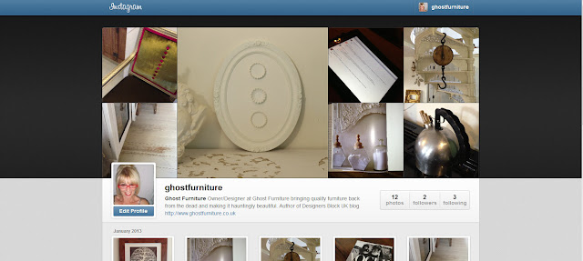 ghost furniture at instagram