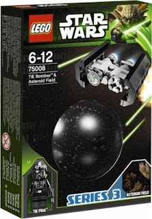 75008 TIE Bomber & Asteroid Field (Series 3)