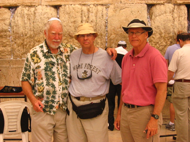 At the Western(Wailing) Wall